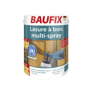 Lasure à bois multi-spray